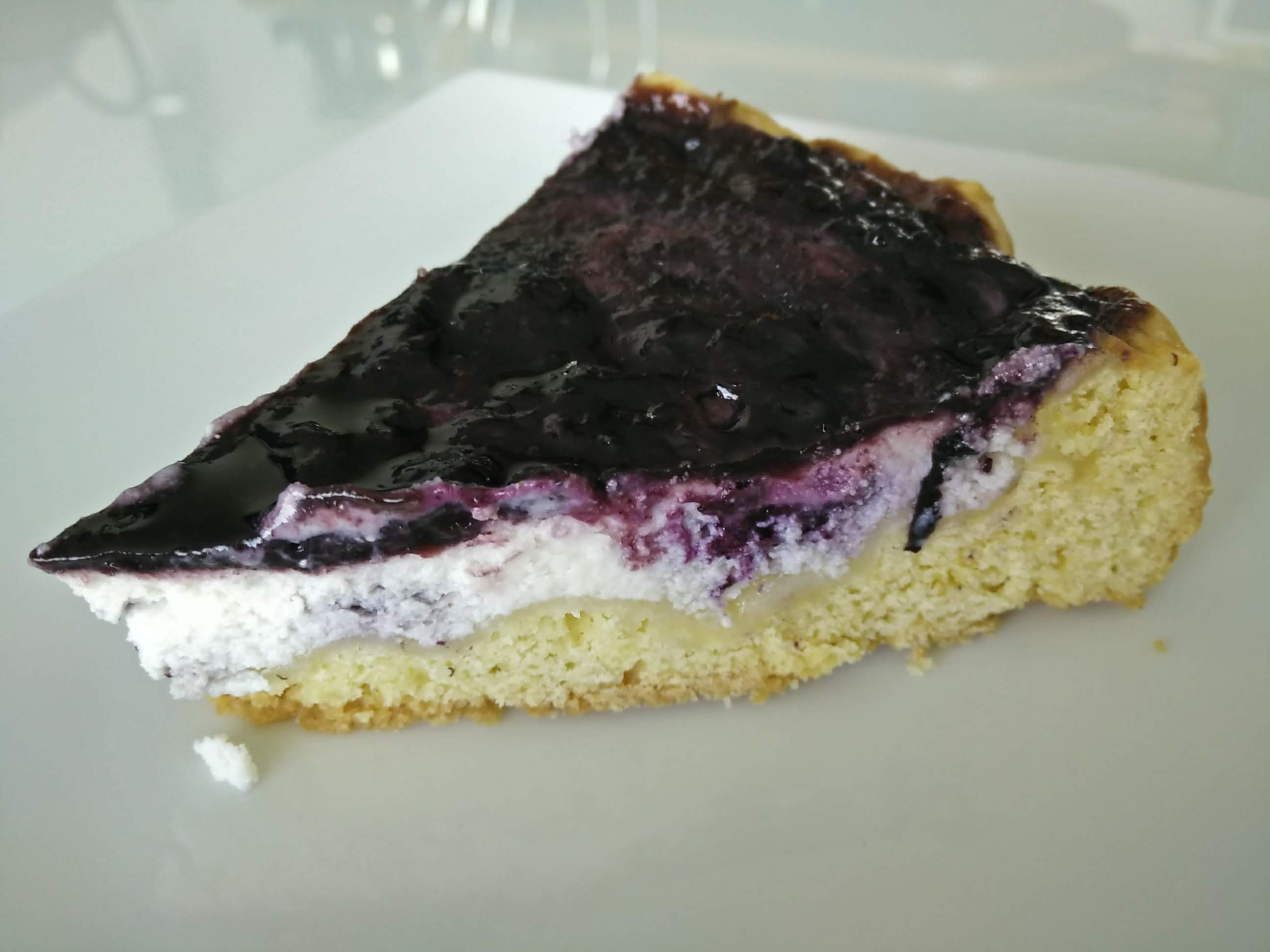 Crostata di mirtilli e ricotta